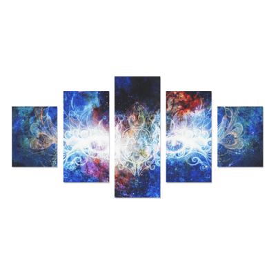 Mystic Eye Canvas Wall Art (5 pieces)