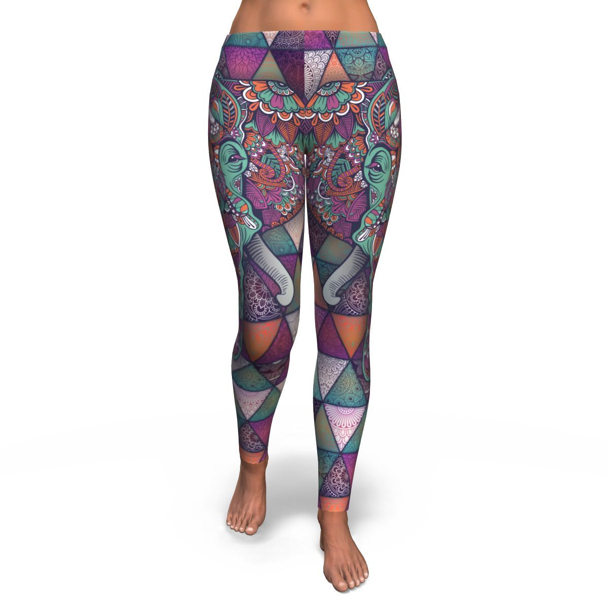 Spirit Guide Elephant Leggings