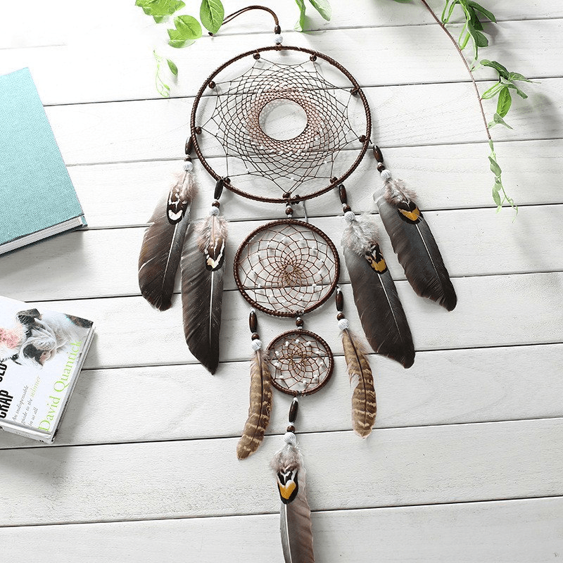 Eagle Feather Indian Dreamcatcher