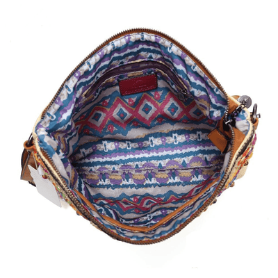 Embroidered Bohemian Shoulder Bag