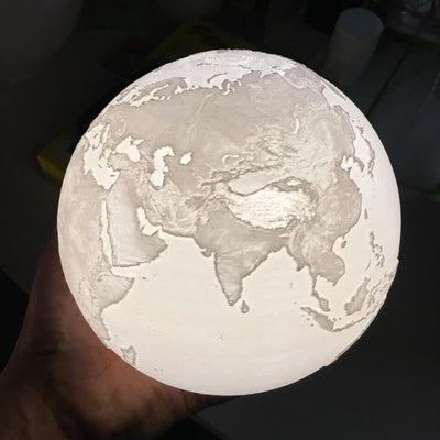 Earth Globe Lamp - My Metanoia Co