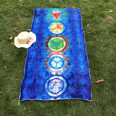 7 Chakra Tapestry Yoga Mat - My Metanoia Co