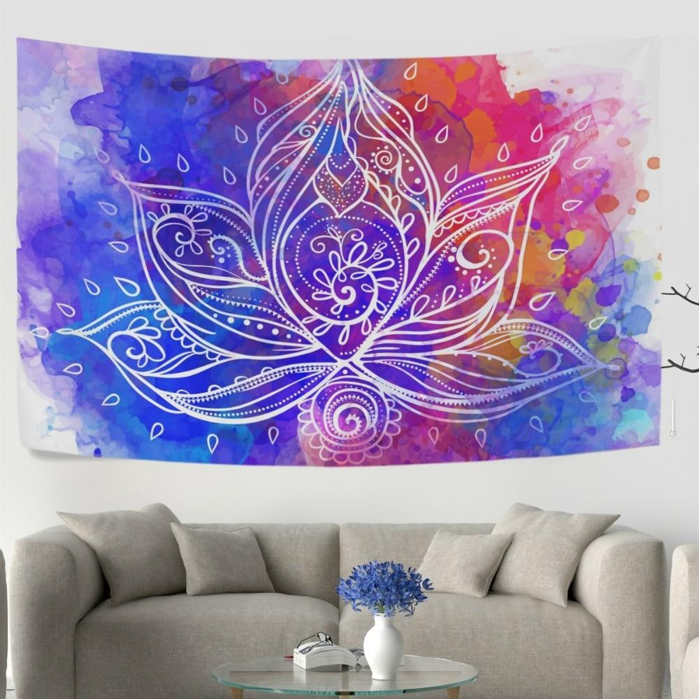 Bohemia Love Lotus Tapestry