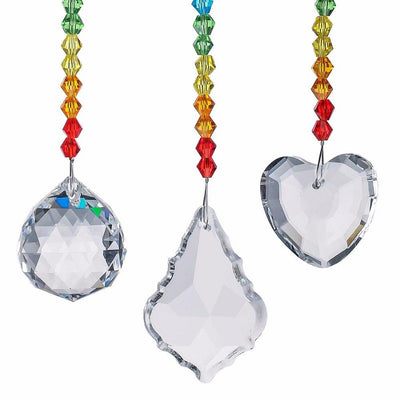 "Chakra ""I am Love"" Crystal Suncatcher - My Metanoia Co"