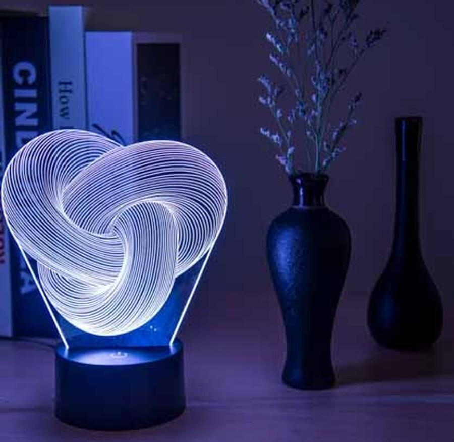 3D LED Knot 2 Night Light - My Metanoia Co