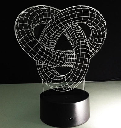 3D LED Knot Night Light - My Metanoia Co