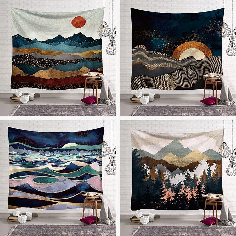 Oil Painting Landscape Tapestries