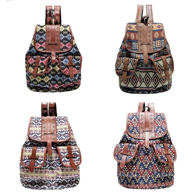 Bohemian Geometric Backpack