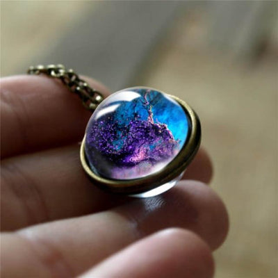 Nebula Galaxy Pendant Necklace