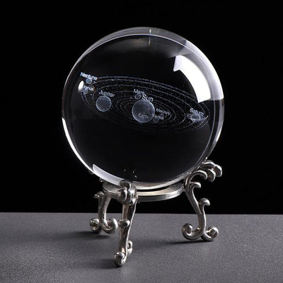 Engraved Solar System Ball