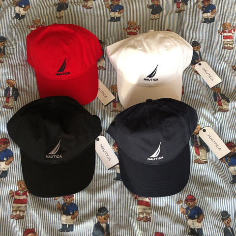 *BNWT* Nautica Six Panel Logo Caps ⛵️-Hats/Accessories-DISTINCT - THREADS
