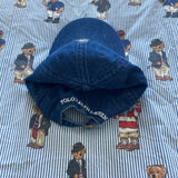 Denim Polo Bear Cap-Hats/Accessories-DISTINCT - THREADS