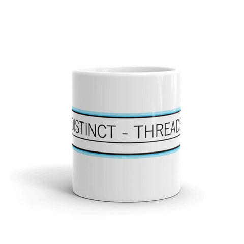 DISTINCT - THREADS Logo Mug-DISTINCT - THREADS