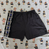 Vintage 90's Navy Kappa Shorts (L)-Bottoms-DISTINCT - THREADS