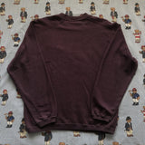 Vintage Burgundy Nike Sweatshirt (M)-Sweatshirts/Jumpers-DISTINCT - THREADS