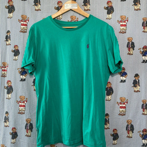 Turquoise Ralph T Shirt (L)-T Shirts-DISTINCT - THREADS