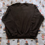 Vintage 80's Black United Colors Of Benetton Sweatshirt (L) - DISTINCT - THREADS - Sweatshirts/Jumpers