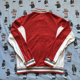 Vintage 80's Red Fila Track Top (M/S)-Sweatshirts/Jumpers-DISTINCT - THREADS