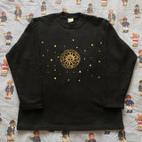 Vintage 90's Black United Colours Of Benetton Sweatshirt (M)-Sweatshirts/Jumpers-DISTINCT - THREADS