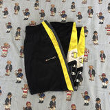 Vintage 90's Dark Navy & Yellow Champion Tracksuit Bottoms (L)-Bottoms-DISTINCT - THREADS
