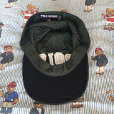 Vintage 90s Forest Green Polo Sport Six Panel Cap 🌲-Hats/Accessories-DISTINCT - THREADS