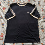 Vintage 90's Navy Fred Perry T Shirt (M)-T Shirts-DISTINCT - THREADS