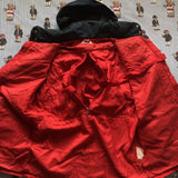 Vintage 90s Navy & Red Fila Waterproof Jacket (L)-Jackets/Coats-DISTINCT - THREADS