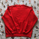 Vintage 90's Red Nautica Competition Sweatshirt (XL/L)-Sweatshirts/Jumpers-DISTINCT - THREADS