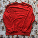 Vintage 90's Red Nike Sweatshirt 🍒 (L)-Sweatshirts/Jumpers-DISTINCT - THREADS