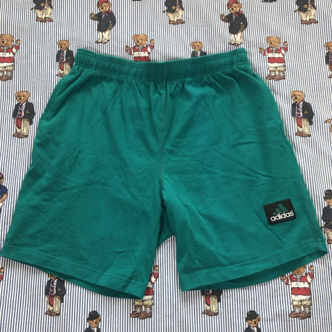 Vintage 90's Teal Adidas Equipment Jogger Shorts (M/L)-Bottoms-DISTINCT - THREADS