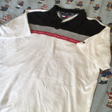 Vintage 90's White Tommy Hilfiger Soft Polo Shirt (XL)-Polos-DISTINCT - THREADS