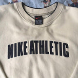 Vintage Beige Nike Sweatshirt (L)-Sweatshirts/Jumpers-DISTINCT - THREADS
