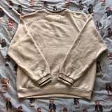 Vintage Beige Nike Sweatshirt (M)-Sweatshirts/Jumpers-DISTINCT - THREADS