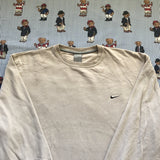 Vintage Beige Nike Sweatshirt (XL/L)-Sweatshirts/Jumpers-DISTINCT - THREADS