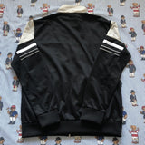 Vintage Black & Grey Fila Track Jacket (L)-Jackets/Coats-DISTINCT - THREADS