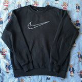 Vintage Black Nike Sweatshirt (S)-Sweatshirts/Jumpers-DISTINCT - THREADS