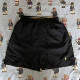 Vintage Black Ralph Lauren Sports Shorts 🐝 (M/S)-Bottoms-DISTINCT - THREADS