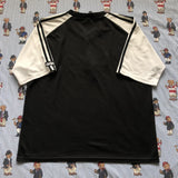 Vintage Black & White Adidas Originals T Shirt (XL)-T Shirts-DISTINCT - THREADS