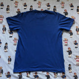 Vintage Blue Adidas T Shirt (M)-T Shirts-DISTINCT - THREADS