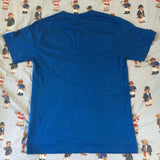 Vintage Blue Polo Ralph Lauren T Shirt (M)-T Shirts-DISTINCT - THREADS