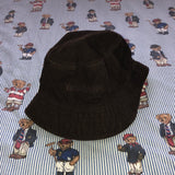 Vintage Brown Timberland Suede Bucket Hat (L)-Hats/Accessories-DISTINCT - THREADS