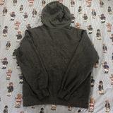 Vintage Charcoal Grey Nike Hoodie (L)-Sweatshirts/Jumpers-DISTINCT - THREADS