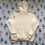 Vintage Cream Adidas Originals Hoodie (S/M)-Sweatshirts/Jumpers-DISTINCT - THREADS