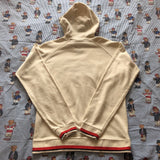 Vintage Cream Puma Hoodie (M)-Sweatshirts/Jumpers-DISTINCT - THREADS