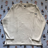 Vintage Cream Reebok Essentials Fleece (XL/L)-Fleeces-DISTINCT - THREADS