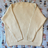 Vintage Cream Timberland Jumper (L)-Sweatshirts/Jumpers-DISTINCT - THREADS