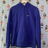 Vintage Electric Blue Nike Hoodie (M) ✔️-Sweatshirts/Jumpers-DISTINCT - THREADS