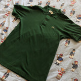 Vintage Forest Green Lacoste Polo Shirt 🐊 (2/S)-Polos-DISTINCT - THREADS