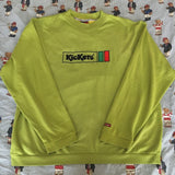 Vintage Green Kickers Sweatshirt (L/XL)-Sweatshirts/Jumpers-DISTINCT - THREADS