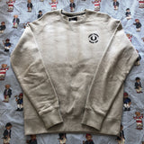 Vintage Grey Fred Perry Minimal Sweatshirt (L)-Sweatshirts/Jumpers-DISTINCT - THREADS